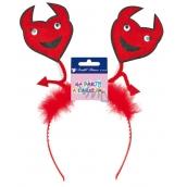 Headband with devils