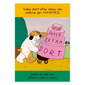 Ditipo Playing Birthday Cards Original melody from Maxipes Bedtime Fig Fig 224 x 157 mm