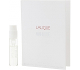 Lalique White Eau De Toilette Spray 1.8 ml with Sprayer, Vialka