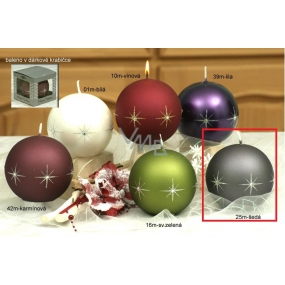 Lima Zircon candle gray ball 100 mm 1 piece