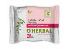About Herbal Natural Goji and Red Clay Natural Toilet Soap 100 g