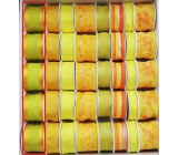 Ditipo Fabric ribbon with wire yellow-green 2 mx 40 mm