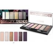 Revers New City Trends eyeshadow palette 07 9 g