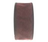 Ditipo Fabric ribbon with burgundy wire 3 mx 25 mm