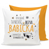 Nekupto Gift Center Pillow with dedication Crack grandmother 30 x 30 cm