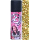 Zo Cool Glitter Spray Glitter for Hair and Body Gold 125 ml
