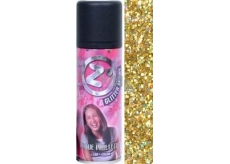 Zo Cool Glitter Spray glitry na vlasy a tělo Gold 125 ml