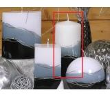 Lima Verona svíčka šedá válec 70 x 150 mm 1 kus