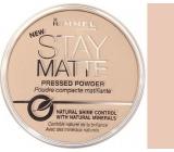 Rimmel London Stay Matte Powder 005 Silky Beige 14 g