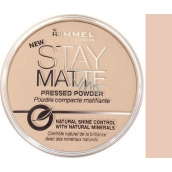 Rimmel London Stay Matte Powder pudr 005 Silky Beige 14 g