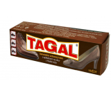 Tagal Brown self-polishing protective cream with applicator for leather shoes 50 g