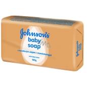 Johnsons Baby Mandlový olej toaletní mýdlo pro děti 100 g