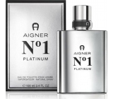 Etienne Aigner Aigner No.1 Platinum eau de toilette for men 100 ml