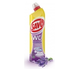 Savo Lavender WC gel toilet cleaner 750 ml