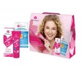 Dermacol Love My Face Skin Sorbet 50 ml + 3D moisturizing and nourishing mask 15 ml, cosmetic set