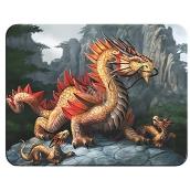 Prime3D magnet - Golden Mountain Dragon 9 x 7 cm
