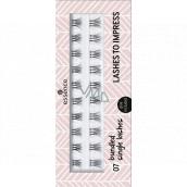 Essence Lashes To Impress false eyelashes 07 Bundled Single Lashes 20 pieces