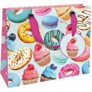 Nekupto Gift paper bag luxury small 18 x 16 x 8 cm Sweets 1838 LIS
