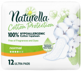 Naturella Cotton Protection Ultra Normal sanitary pads with wings 12 pieces