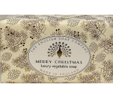 English Soap Vintage Merry Christmas natural perfumed toilet soap with shea butter 190 g