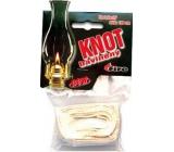 Fire Knot cotton flat length 100 cm diameter 1.6 cm 1 piece