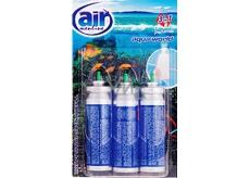 Air Menline Aqua World Happy spray osvěžovač vzduchu náhradní náplně 3 x 15 ml