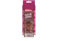 Bohemia Gifts & Cosmetics Pojď do sprchy sprchový gel růžový s originální 3D etiketou 300 ml