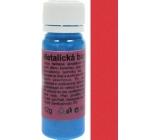 Art e Miss Univerzální akrylátová vodou ředitelná barva 53 metalická tmavě červená 12 g