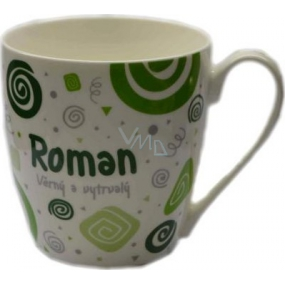 Nekupto Twister mug named Roman green 0.4 liters