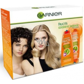 Garnier Fructis Goodbye Damage Strengthening Shampoo 250 ml + Strengthening Hair Balm 200 ml, cosmetic set 2016