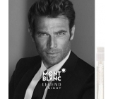 Montblanc Legend Night perfume water for men 1.2 ml with spray, Vialka