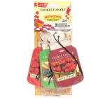 Yankee Candle Car Fragrance Set of 3pcs Fruitalicou 9815 paper tags