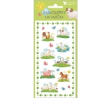 Easter New Egg Stickers with Animals No.1 19 x 9 cm