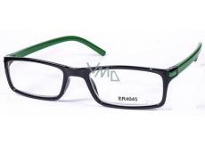 Berkeley Eyeglasses +3,5 black green side 1 piece MC2 ER4045
