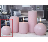 CANDLES 80 Ice pastel Pink 3150