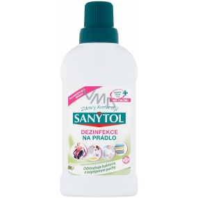 Sanytol Aloe Vera and cotton disinfectant flowers for white and colored laundry and washing machines 500 ml