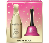Baylis & Harding Cocktail hour Peach Bellini bath foam 300 ml + bell, cosmetic set