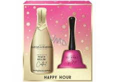 Baylis & Harding Cocktail hour Peach Bellini bath foam 300 ml + bell, cosmetic set
