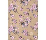 Albi Diary 2022 weekly Cherry blossom 17.3 x 12.5 x 1.5 cm