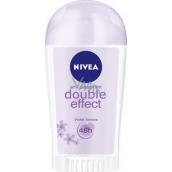 Nivea Double Effect Violet Senses antiperspirant deodorant stick pro ženy 40 ml