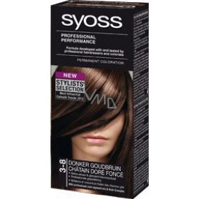 Syoss Professional Hair Color 3 - 8 Sweet Brunette