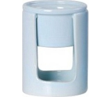 Bolsius Aromalampa ceramic cylinder light blue 90 x 125 mm