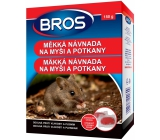 Bros Soft bait 150 g for mice and rats