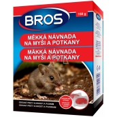 BROS soft bait for mice, rats and rats 150 g 2609