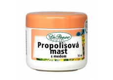 Dr. Popov Propolis ointment with honey for cracked skin, scars, wrinkles, skin problems, sunlight 50 ml