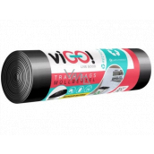 viGO! Garbage bags black, 24 µ, 60 liters 60 x 70 cm 10 pieces