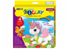 Amos I-Clay Modeling drying compound Unicorn 4 colors x 18 g
