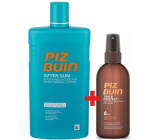 Piz Buin Tan & Protect SPF6 protective oil accelerating the tanning process 150 ml spray + After Sun Soothing & Cooling after sun lotion with aloe vera, moisturizes and cools, reduces redness caused by UV radiation 400 ml, duopack