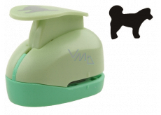 Punch for paper and EVA foam Dog approx. 2.5 cm