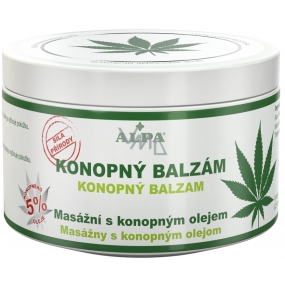 Alpa Massage hemp balm with hemp oil 250 ml